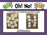 Vowel Sort- OH! NO! Game- The Bundle