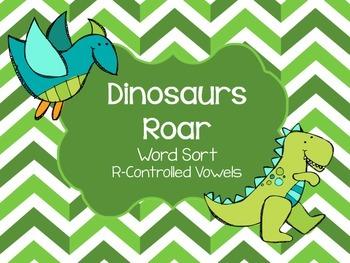 Phonics Word Sort - R-Controlled Vowels