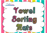 Vowel Sorting Animal Mats