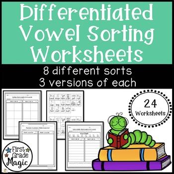 Short Vowel U Worksheets Teaching Resources | Teachers Pay Teachers