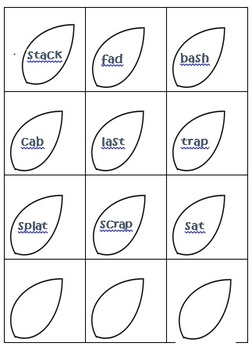 Vowel Sorting Flowers- Short and Long O