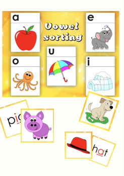 Vowel Sorting Game