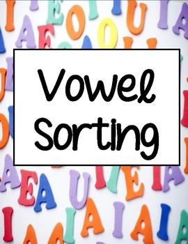Vowels - Vowel Sorting Mats