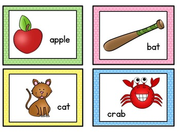 Vowel Sorting Pictures