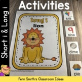 Short i and Long i Vowel Activities