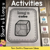 Short u and Long u Vowel Activities