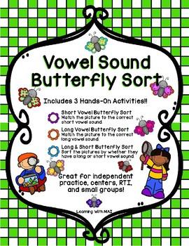 Vowel Sound Butterfly Sort