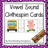 Vowel Sound Clothespin Cards