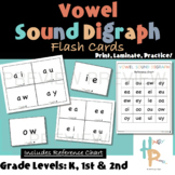 Vowel Sound Digraph Flash Cards with Reference Chart