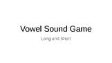 Vowel Sound Game