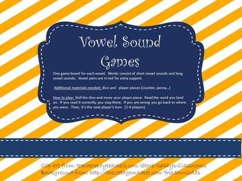 Vowel Sound Games