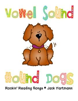 Vowel Sound Hound Dogs Book
