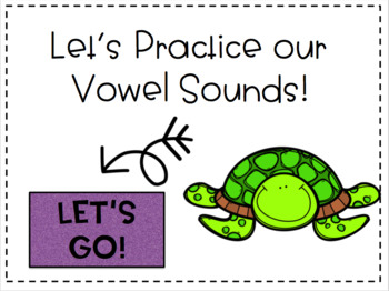 Vowel Sound Interactive PDF- Perfect for Seesaw!