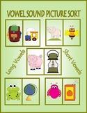 Vowel Sound Picture Sort