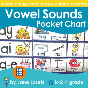 Vowel Sounds Pocket Chart