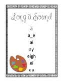 Vowel Sound Poster