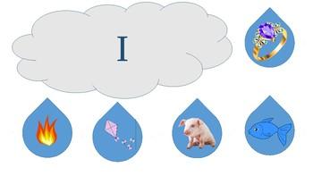 Vowel Sound Rain Cloud Match