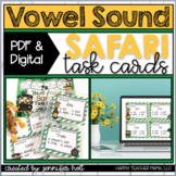 Vowel Sound Safari {Task Cards}