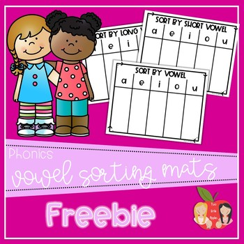 Vowel Sound Sorting Mats & Recording Sheets