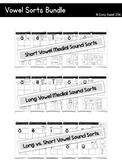 Vowel Sound Sorts (Medial Sound) Bundle