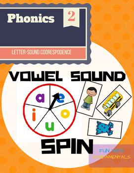 Vowel Sound Spin
