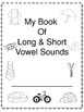 Vowel Sound Work Booklet