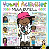 Short Vowels, Long Vowels, R Influenced Vowels  BUNDLE (Games & Worksheets)