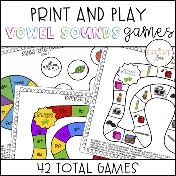 Vowel Sounds Games