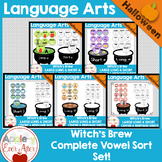 Halloween Sort - Vowel Sounds - Complete Vowel Bundle!
