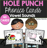 Vowel Sounds Hole Punch Cards {40 Cards}