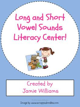 Vowel Sounds Literacy Center