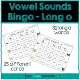 Vowel Sounds (Long O) Bingo - 25 Different Game Cards