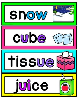 Vowel Sounds & Patterns - Anchor Charts