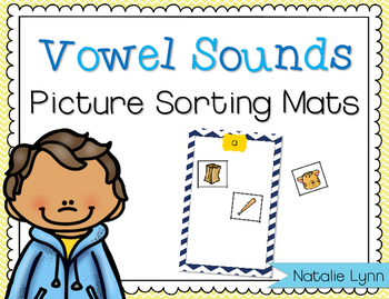 Vowel Sounds Picture Sorting Mats