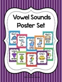 Vowel Sounds Poster Set (Long and Short Vowels)