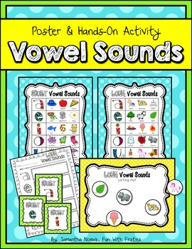 Vowel Sounds Posters and Activities