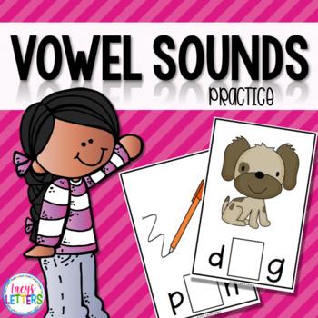 Vowel Sounds Practice - CVC Words