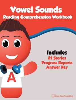 Vowel Sounds Reading Comprehension Bundle