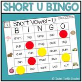 Vowel Sounds (Short U) Bingo - 25 Different Game Cards