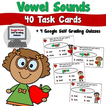 Vowel Sounds Task Cards