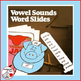 VOWEL SOUNDS Slides | Vocabulary PRACTICE | Vowel Characters| Color | CORE Gr 1