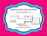 Vowel Sounds Word Work Set- Long E/Short E