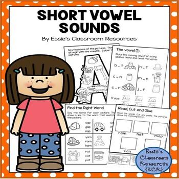 Vowel Sounds Workbook (Short Vowels)