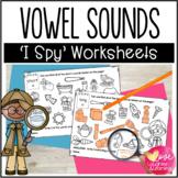 Vowel Sounds Worksheets {I Spy!}