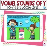 Y AS A Vowel |  BOOM Cards™ | Digital