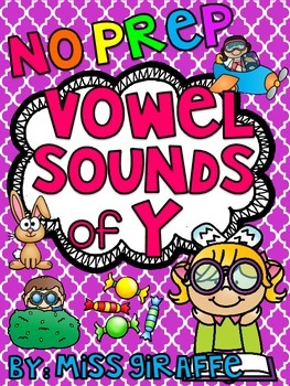 Vowel Sounds of Y Worksheets & Activities {NO PREP!}