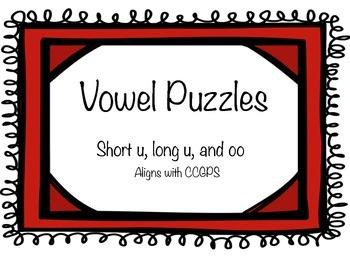 Vowel Sounds u and oo