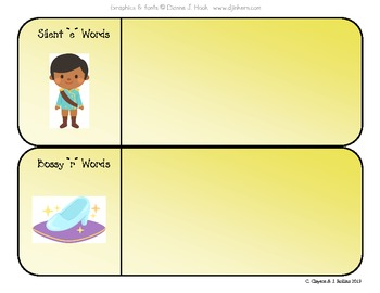 "Vowel & Syllable Sort (for CCSS Unit 6, ""Around the World with a Glass Slipper"")"