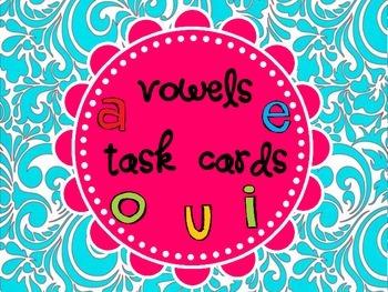 Vowel Task Cards