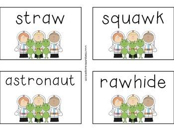 Vowel Team: AU & AW